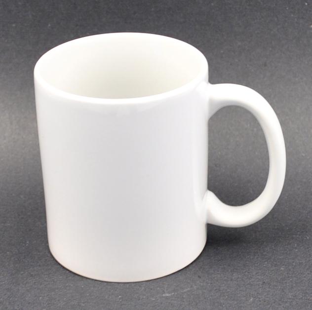 15oz Sublimation Coated White Mug, Sublimation Ink Heat Transfer