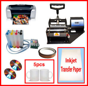 Mug Heat Press, Epson C88+ Printer, CISS