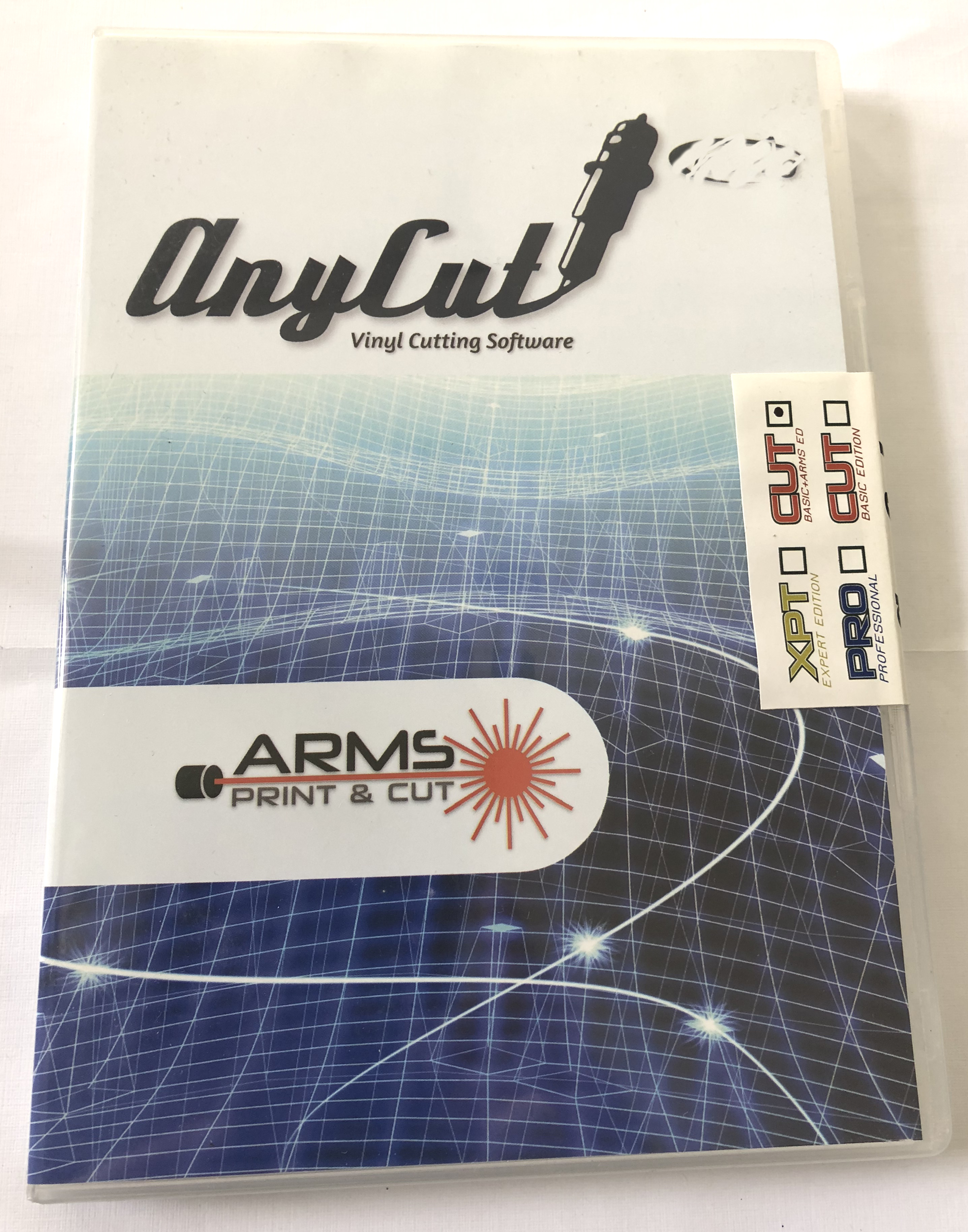 Anycut Software for ARM Contour Vinyl Cutter Plotter Vinyl Sign