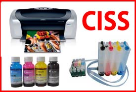 Epson C88 Printer+CISS+Dye Bulk Ink Package