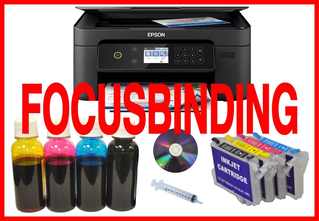 All in One Wireless Printer Sublimation Ink System Bundle