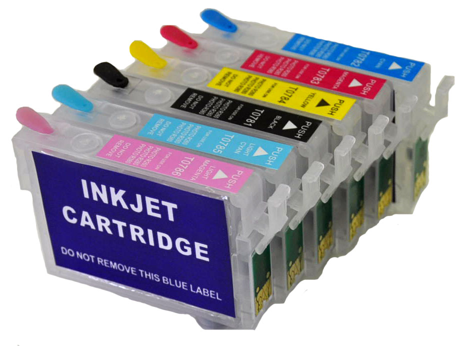 Epson Artisan 1400/1430, Refillable Ink Cartridge Kit