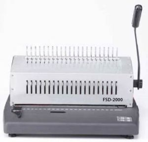 Heavy Duty Metal 20pgs/Punch,500 Cerlox Comb Binding Machine