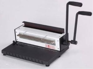 Heavy Duty Metal Based 3:1 Wire Binding Machine, 135sheets - Click Image to Close