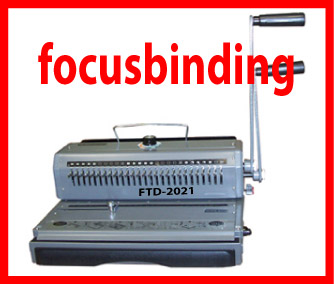 Wire Binding Machine, 2:1 Pitch, Wire-O,Movable Pins