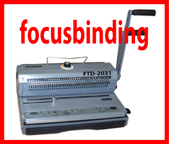 Wire Binding Machine, 3:1 Pitch, Wire-O,Movable Pins