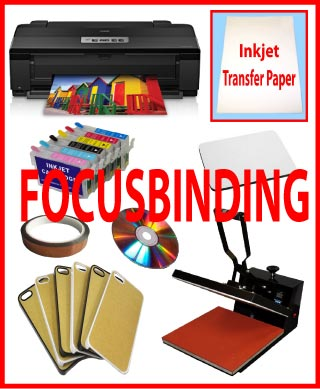 15x15 Heat Press,Epson Printer1430,Refillable Sublimation Kit