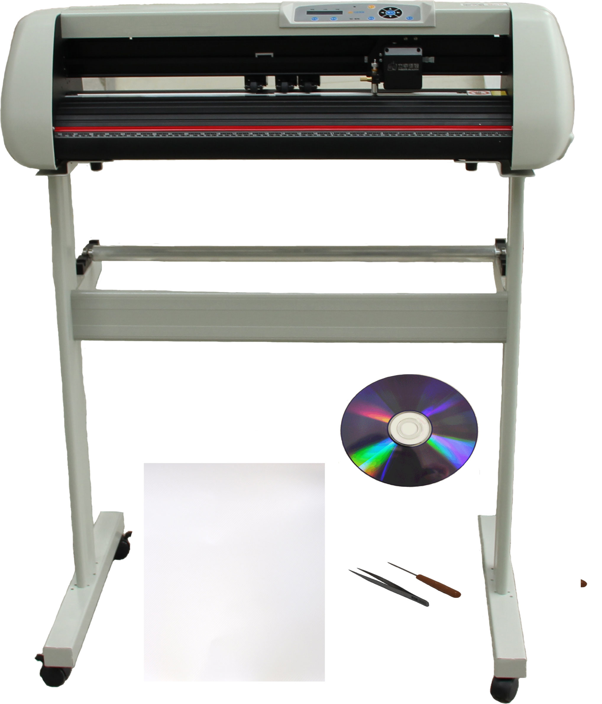 "28"" 500g Force Metal Vinyl Cutter Plotter Bundle"