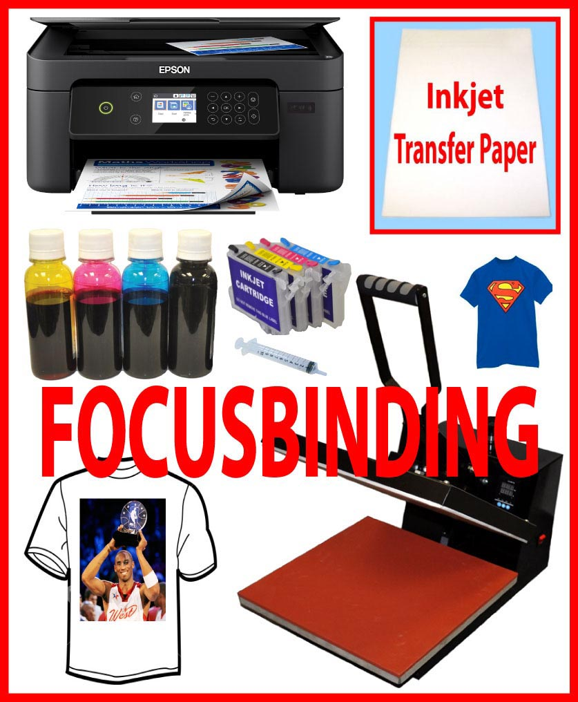 15x15 Heat Transfer Press, Wireless All in One Printer HTV Vinyl