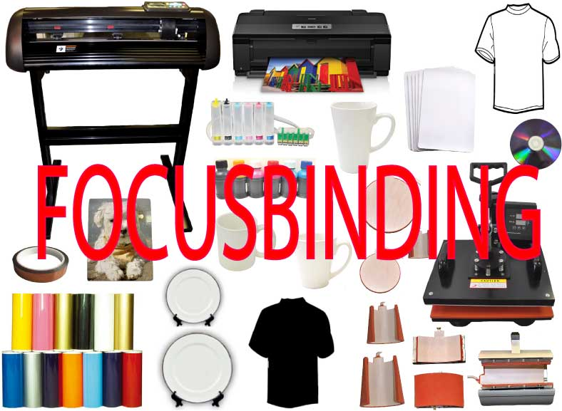 "8in1 Heat Press,24"" 1000gVinyl Cutter,Epson 1430,CIS Sublimation"