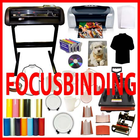 "8in1 Heat Press, 24"" 1000g Vinyl Cutter Epson Printer Refil Kit"