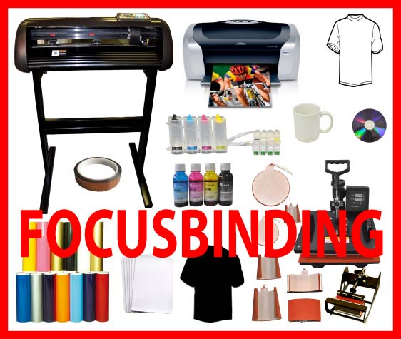 "8in1 Heat Press,24"" 1000g Vinyl Cutter,Printer,CISS Sublimation"