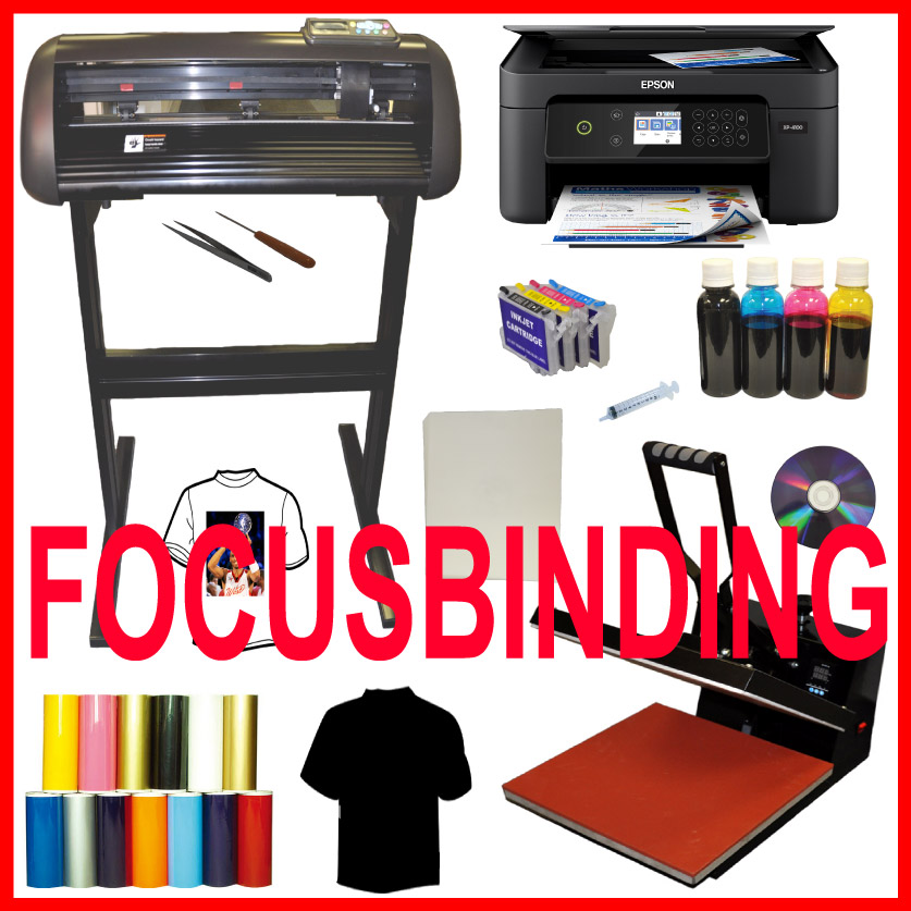 15x15 Heat Press,Epson Wireless Chip-less Printer,HTV Vinyl