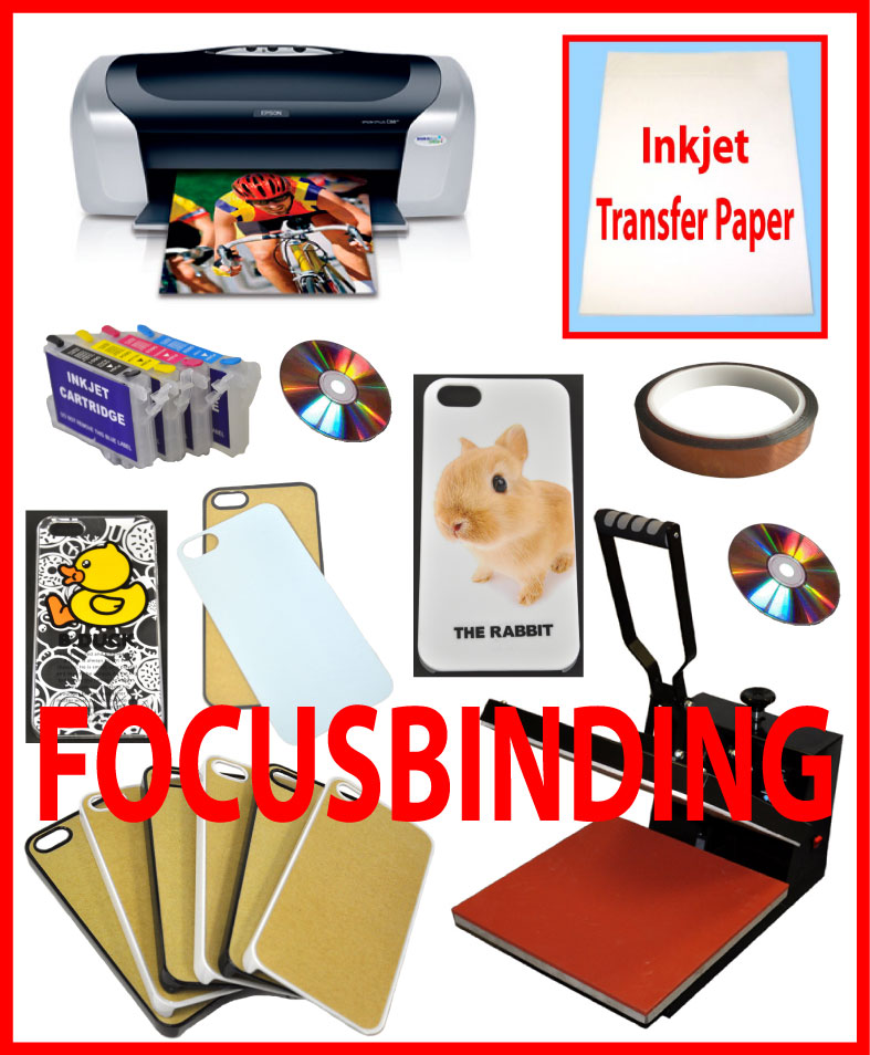 15x15 Heat Transfer Press,Printer,Refill Cartridges, iPhone Case