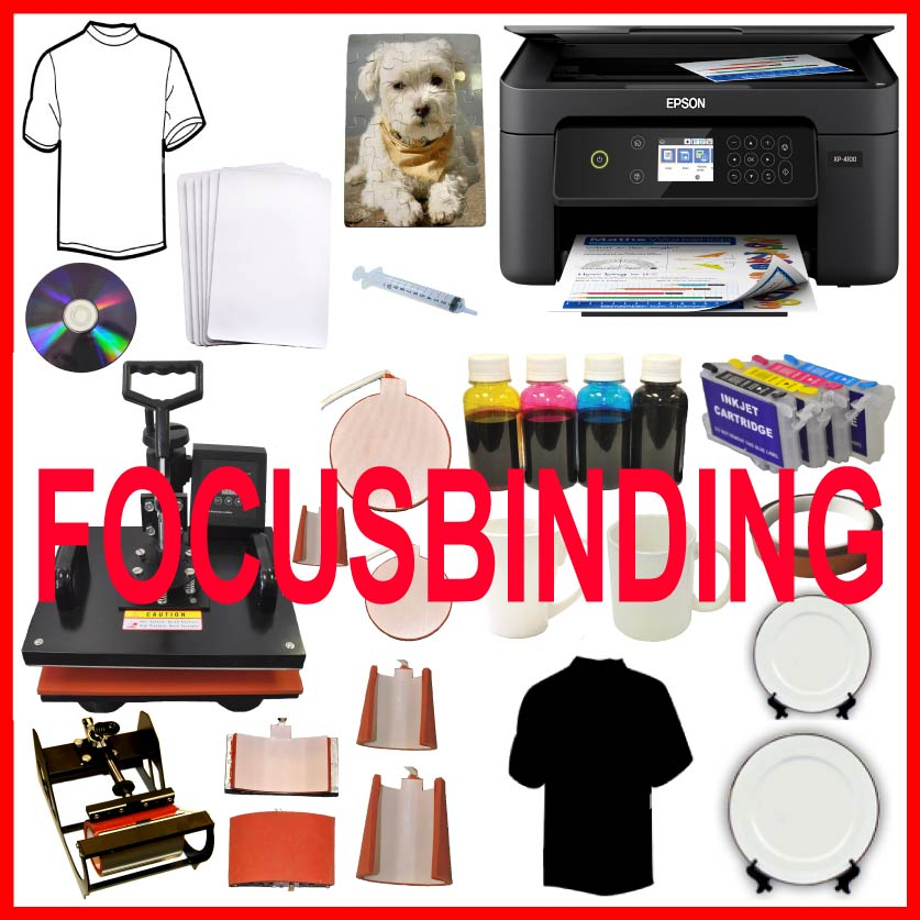 8in1 Sublimation Heat Press All in1 Wireless Sublimation Printer