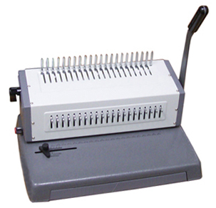Metal 25pgs/Punch,500 Cerlox Comb Binding Machine