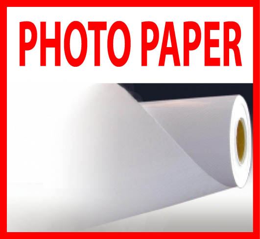 "36""x82' Digital Glossy Large Format Photo Paper Roll 210g"