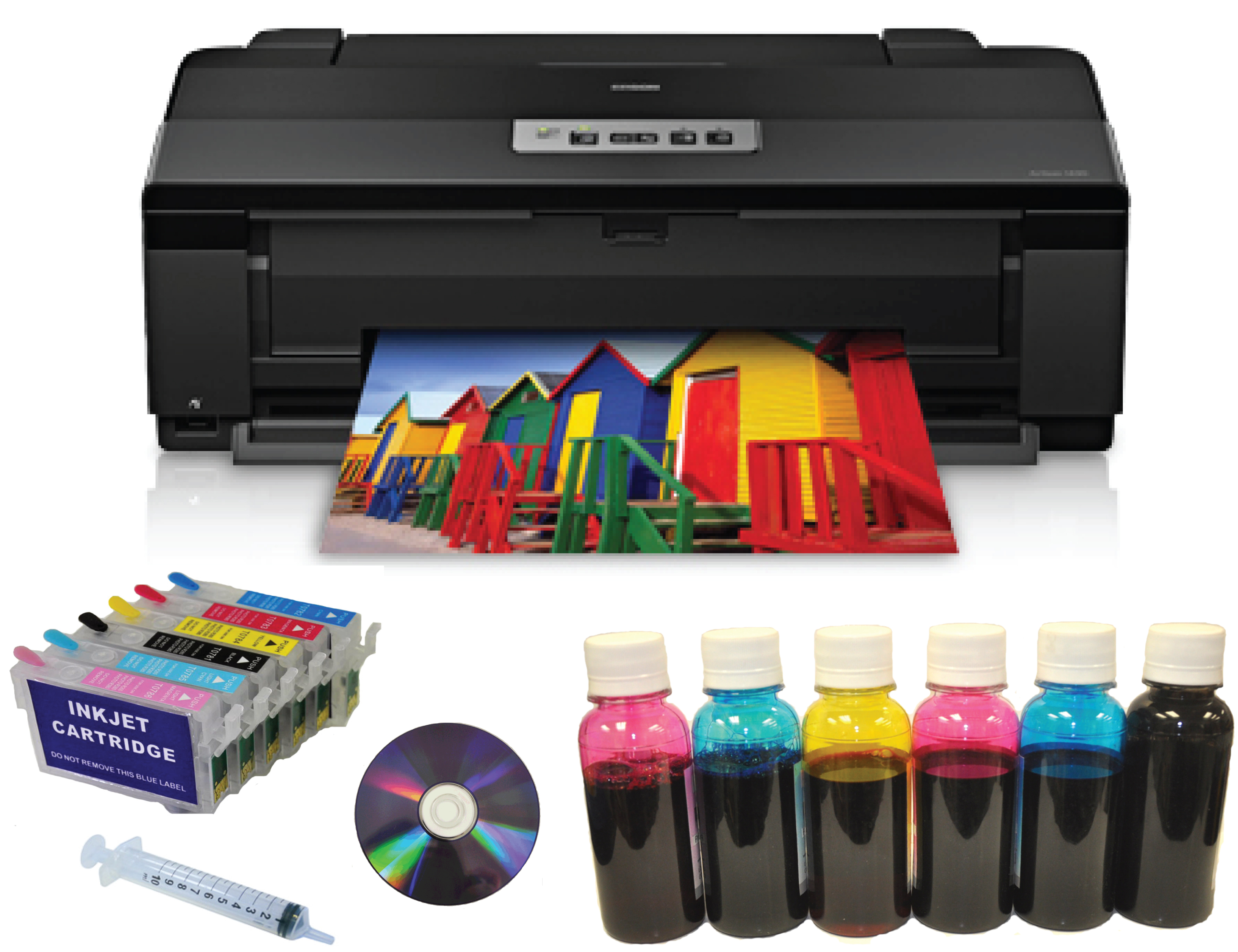 "Epson Artisan1430 Printer,13""x19""+Refill Cartridge+Dye Ink"