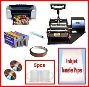 Mug Heat Press, Epson C88+ Printer, refillable cartridges