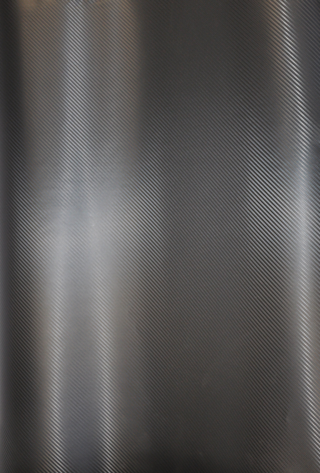 60X2yds Black Carbon Fiber Vehicle Wrapping Vinyl Sticky Backing