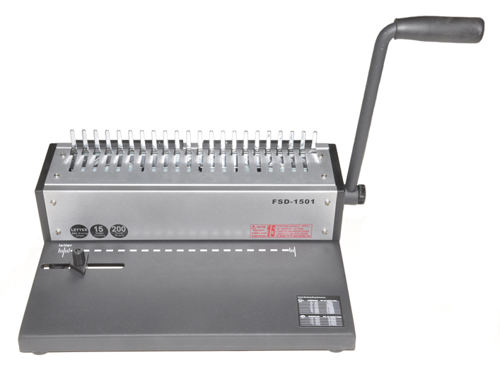 Metal Based Cerlox Comb Binding Machine