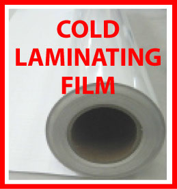 42X163' 2Mil, Matte Cold Laminating Film for Lable, Sticker