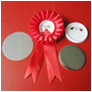 "2-1/4"" (58mm) Corsage Button Blank for Button/Badge Maker Press"