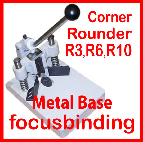 Heavy Duty Corner Cutter/Rounder with R3, R6 and R10 Dies