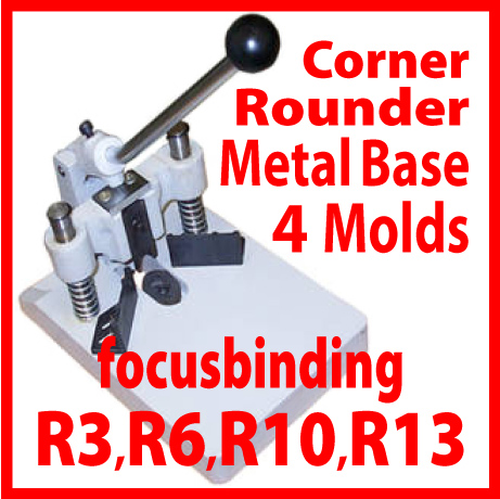 Heavy Duty Corner Cutter/Rounder with R3, R6, R10 & R13 Dies