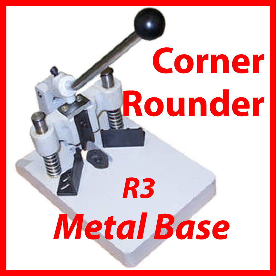 "Heavy Duty Corner Cutter, Rounder with R3 (1/8"") Die"
