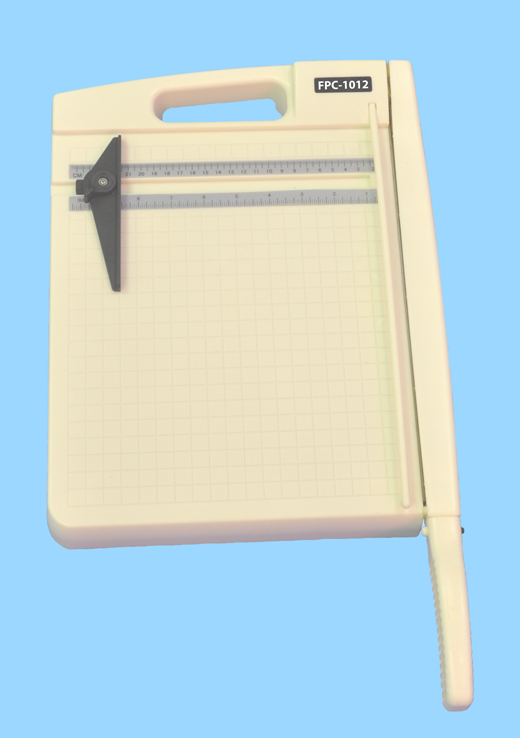 "12"" Heavy-Duty Plastic-Base Paper Cutter/Trimmer"
